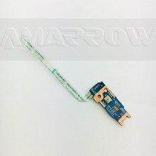 Original frete grátis para toshiba C55 B C50 B C55T B C50D B C55D B placa de interruptor botão energia LS B302P
