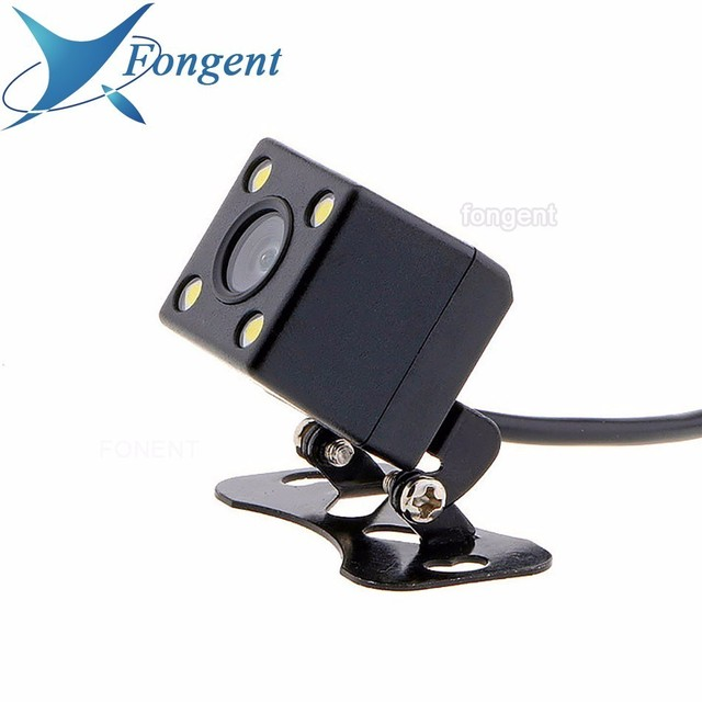 Fongent Wireless Camera Rear View Parking 4.3 / 5 inch Screen Display sucking disc Fold Mirror Monitor Universal For all Car Van