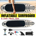 320x78x15 centimetri Tavola Da Surf Gonfiabile 2019 Tavola Da Surf Stand Up Paddle Surf Board Sport Acquatici Sup Board + pompa di Strumenti di Corda di Sicurezza Kit