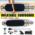 320x78x15 cm Opblaasbare Surfplank 2019 Surfplank Stand Up Paddle Surfen Board Water Sport Sup Board + pomp Veiligheid Touw Gereedschap Kit