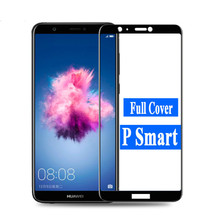 P Smart 3D 9H Tempered Glass for Huawei Dual SIM PSmart Full Cover Protective Film Screen Protector