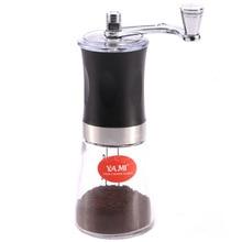 Кофемолка мини из нержавеющей стали ручной работы кофе Bean кофейные мельницы мельница кухонный инструмент мельница для шафрана