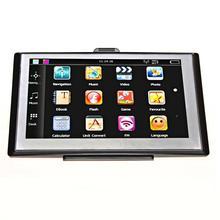 цена на Adeeing HD Touch Screen Car Radio GPS Tracker Navigation 256MB/8GB Navigators FM Bluetooth MP3/MP4 Players Car Electric