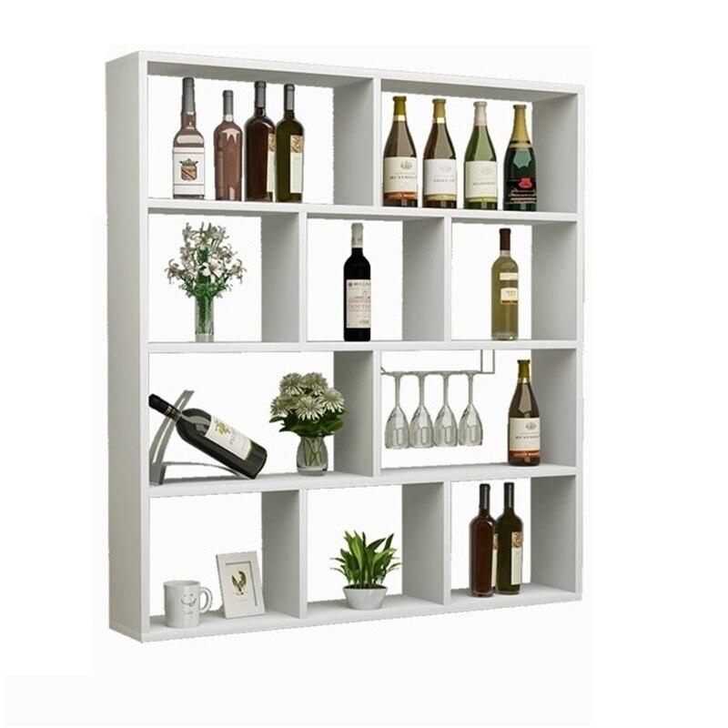 Présentoir Meja bureau Salon Mobilya Dolabi rangement Adega vinho Meble hôtel étagère meubles commerciaux Bar à vin