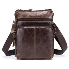 Быком, капитан мужской известный бренд свободного покроя Crossbody сумки мужской сумка мода натуральная кожа мини-сумка для мужчин