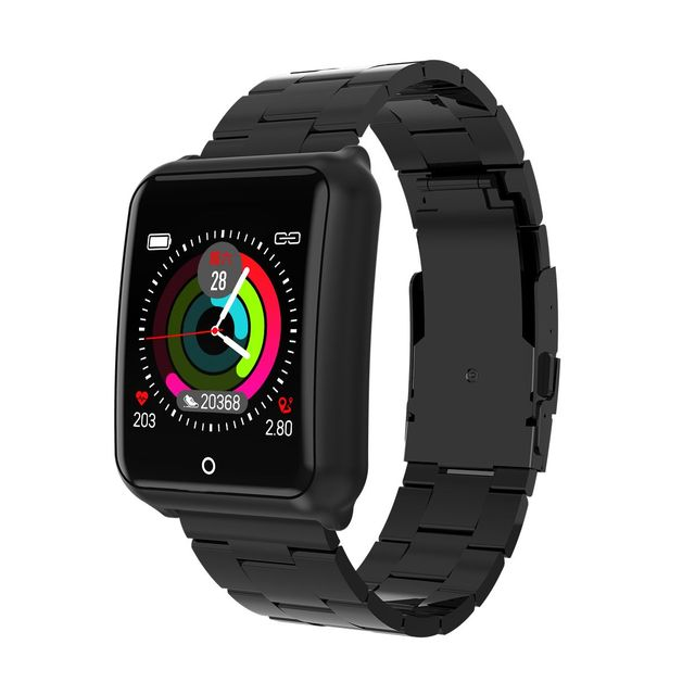 LYNWO M39 Smartwatch 1.3inch Color Display Music Weather HR Blood Pressure Fitness Tracker Long Stand-by Smart Watch Men