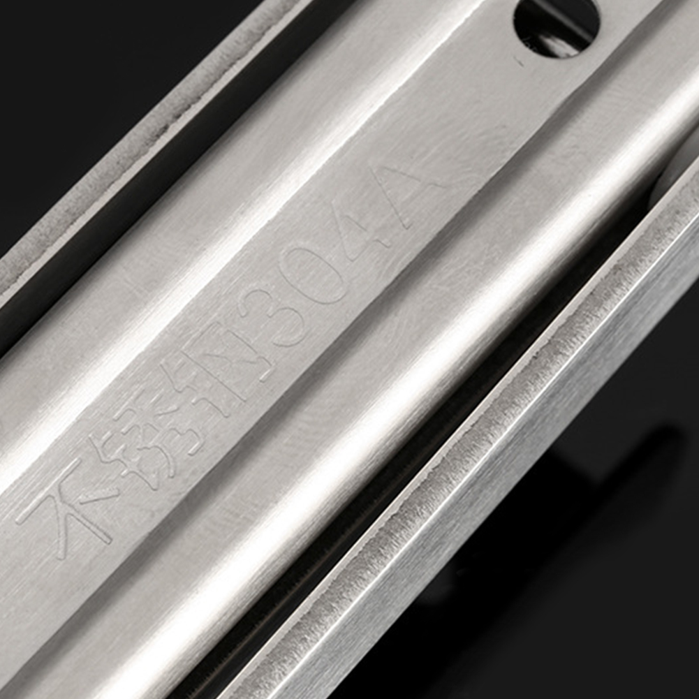 2pcs Adjustable Table Folding Bracket Angle Stainless Steel Diy Home Wall Mounted Triangle Durable Bearing Shelf Brackets