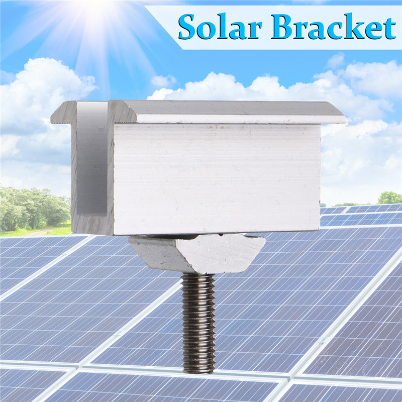 Sliver Solar Panel Brackets Stainless Steel Solar Panel Mounting Sets For Most Framed Solar Panels On The RV House And Boat