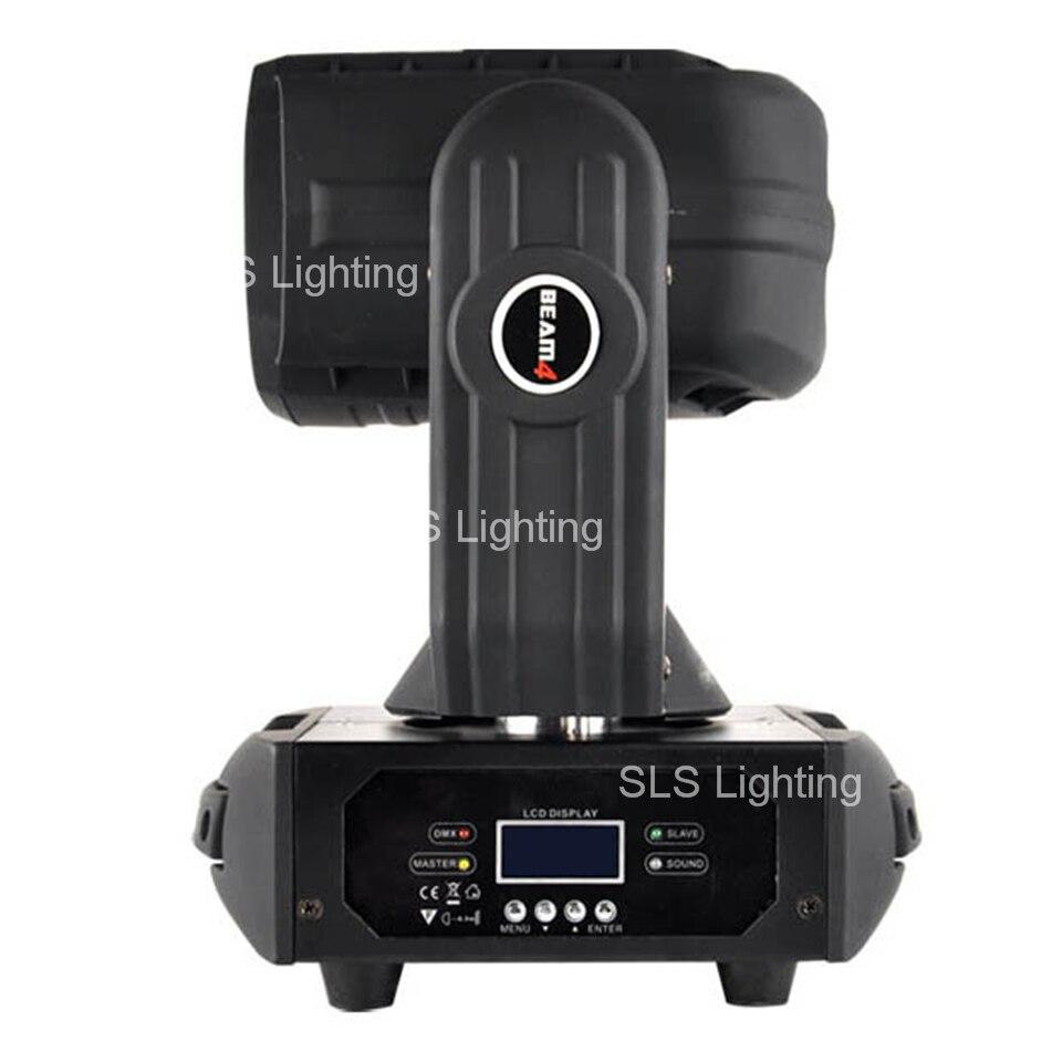 US $452 0  SLS (2PCS) Super Beam Led Moving Head Light with 4x25W White Led  Lamp Rotating Lens DMX 9/15Chs DJ Effect Light-in Stage Lighting Effect