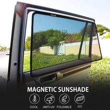 Для SIENNA RAV4 и Highlander VELLFIRE & Левин/Corolla автомобиль Шторы черный магнитный автомобильный боковое оконные шторы из сетчатой ткани тени слепой