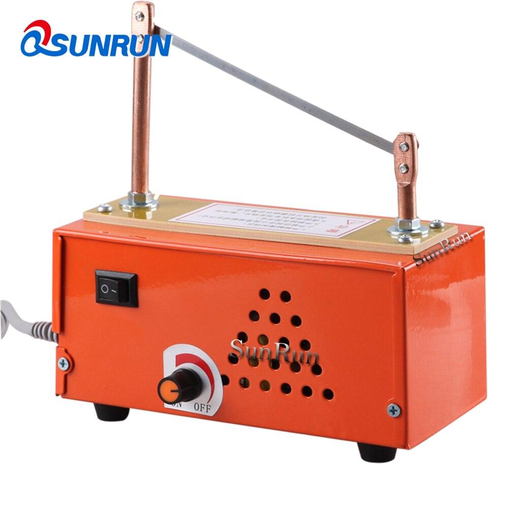 Thermostat hot cutting machine ribbon ribbon Lace foiling Velcro Label cutting machine multi purpose electric cutting