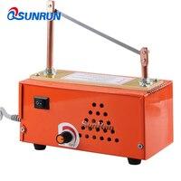 Thermostat hot cutting machine ribbon ribbon Lace foiling Velcro Label cutting machine multi purpose electric cutting machine