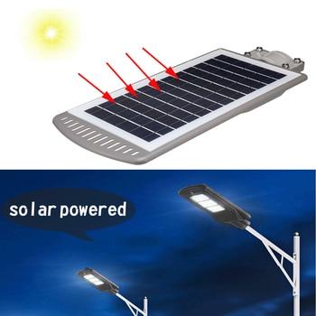 1 PC 40 W Zonne-energie Panel LED Zonne-straat Licht All-in-1 Tijd Schakelaar Waterdicht IP67 muur Verlichting Lamp voor Outdoor Tuin