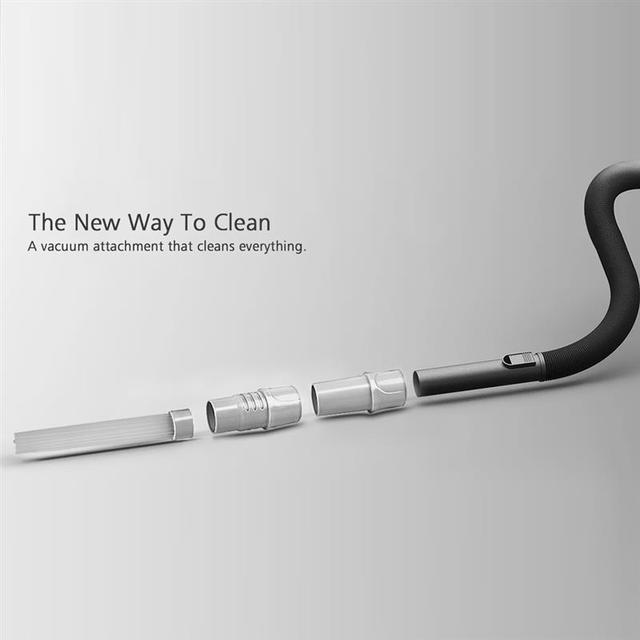 Vacuum Cleaner Attachment Universal Suction Pipe Remove Dirt Pet Hair Dust