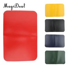 MagiDeal Durable Marine 0.9mm Inflatable Fishing Boat Raft Canoe Kayak Repair Fix Patch Durable for Dinghy Yacht Accessory