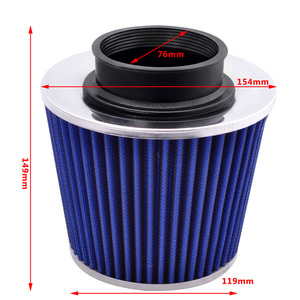 Image 5 - SPEEDWOW Alumimum 3 75mm Car Cold Air Intake System Turbo Induction Pipe Tube+Cone Air Filter