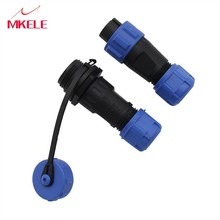 Hoge Kwaliteit 13mm Butt Connector SD/SP13 2 Pin Luchtvaart Stekker En Stopcontact Mannelijke Vrouwelijke