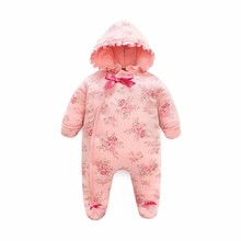 LILIGIRL Floral Winter Newborn Baby costume Cotton