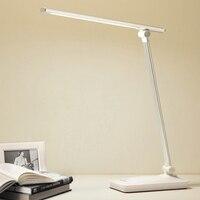 DimmableLED Luz branca Lâmpada de Mesa 2018 Interruptor de Toque USB Dobrável De Alumínio Moderna Candeeiros de Leitura de Mesa de Luz para a Decoração Do Escritório|Luminária de mesa| |  -