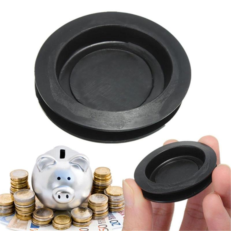 JX-LCLYL 1/2/5/10pcs New Plastic Money Saving Box Piggy Bank Closure Plug Stopper Cover