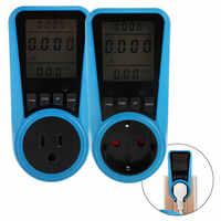 Strom Analyzer Monitor Steckdose Digital Spannung Wattmeter Power Verbrauch Watt Energie Meter KWh AC230VAC120V EU UNS UK Stecker