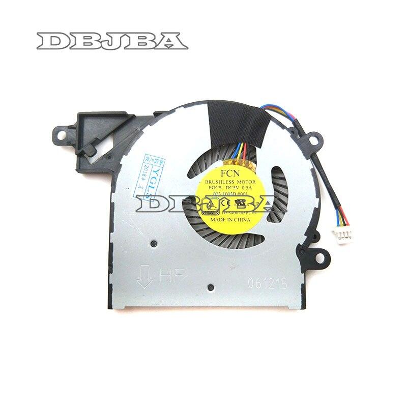 Pour HP Pavilion x360 13-S 13-S000 13-S100 13-S150SA 13-S121CA ventilateur cpu P/N: 809825-001