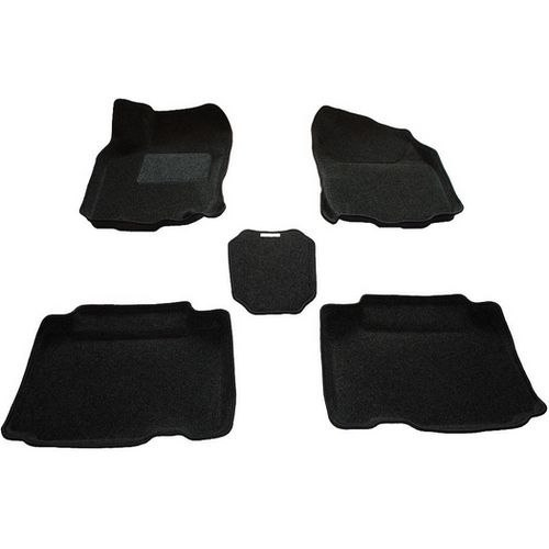 3d ковры BORATEX BRTX-1016 для Toyota RAV 4 2013- темно-серый