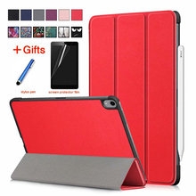 Case For iPad Pro 11 (2018) Smart Cover Funda Model A1980 New inch 2018 Colorful Folding Flip case Stand Shell