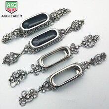 Correa de Metal para Xiaomi Mi 3 y Mi 4, pulsera de Metal con diamantes de cristal para reloj inteligente Xiaomi Mi 3 y Mi Band 3