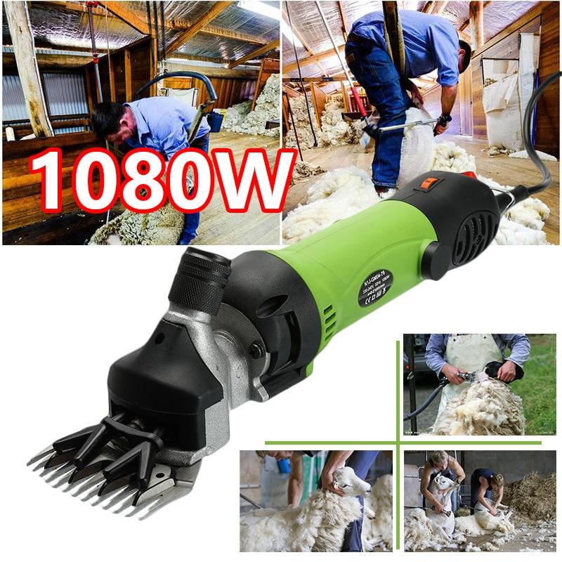 1080W EU Plug Electric Sheep Dog Pet Hair Clipper Animal Shearing Supplies Goat Alpaca Farm Cut