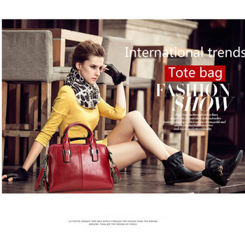 Double Zipper Totes Handbags  5