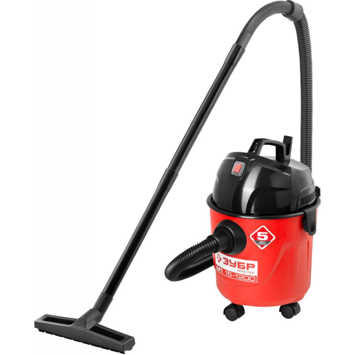 Vacuum cleaner for dry and wet cleaning BISON PU-15-1200 M1