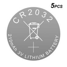 بطارية ليثيوم زر خلية CR2032 3 فولت ليثيوم أيون عملة CR 2032 ل MI شاومي صندوق التلفزيون/مفتاح السيارة/إنذار/عن بعد/اللوحة الأم/مقياس/نظارات ثلاثية الأبعاد
