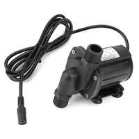 12V 900L / H High Hydraulic DC Brushless Boost Submersible Water Pump Low Noise Mini Water Pump JT-1000c-12