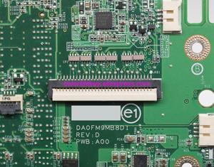 Image 5 - Genuino CN 0TR557 0TR557 TR557 DA0FM9MB8D1 HD4570 tarjeta de vídeo placa base portátil para Dell Studio 1557 Notebook PC