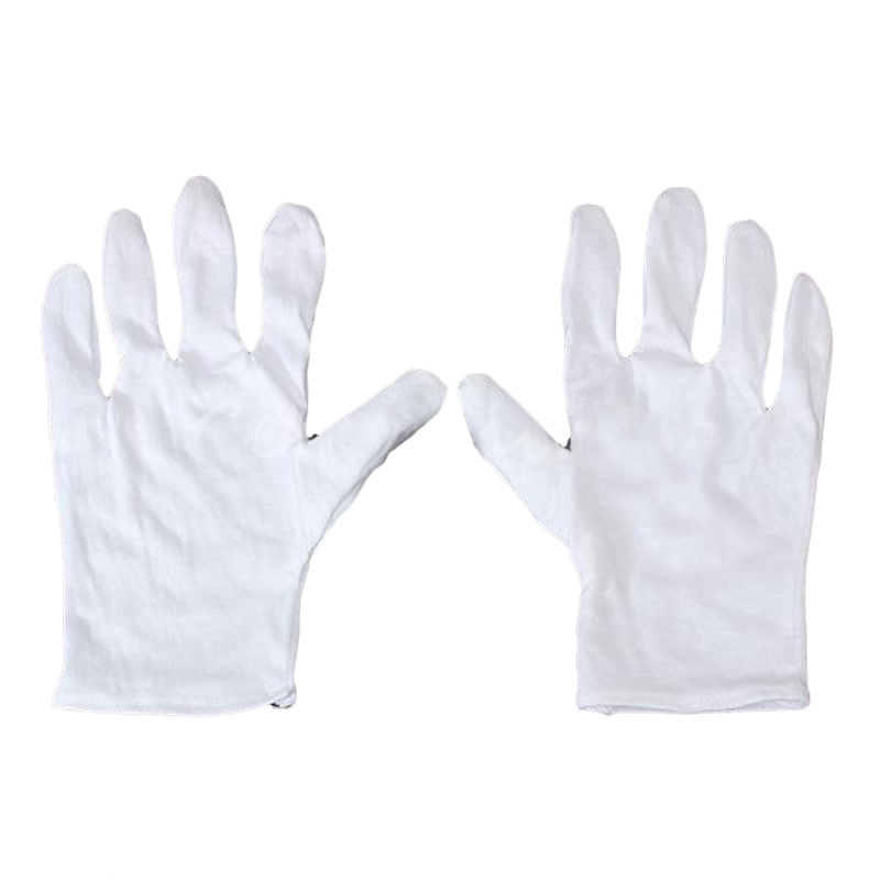 White Cotton Gloves Anti-static Gloves Protective Gloves For Housework Workers