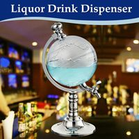 Liquor Dispenser 1000cc Globe Shaped Beverage Drink Wine Beer Pump Decanter Tap Special Unique Design Home Night Club Beer Tool