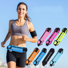 Outdoor sports pockets fitness mobile phone waterproof multi-function riding pouch