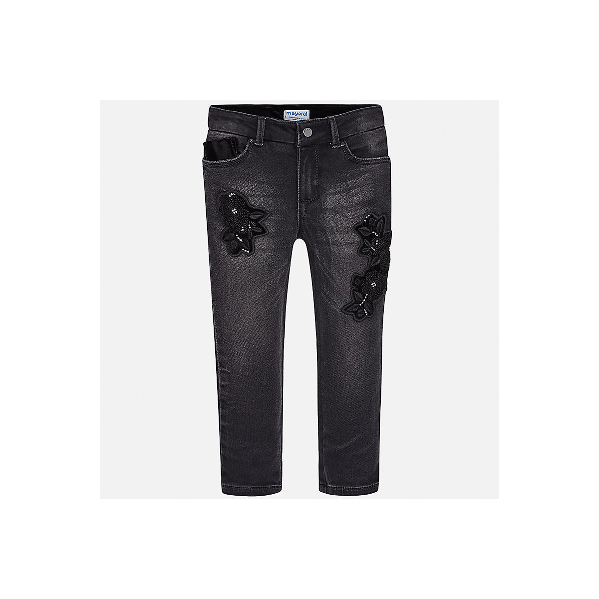 Фото - MAYORAL Jeans 8850199 Girls clothes baby boy children child wear girls destroyed jeans