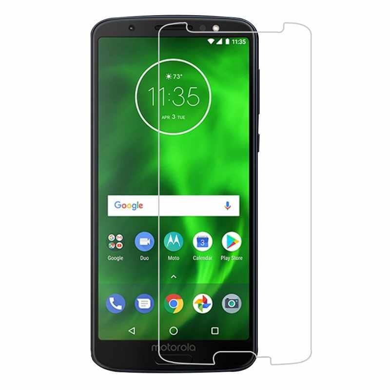 Bakeey 2.5D โค้ง Ultra - บางป้องกันการระเบิด 9 H ความแข็ง HD กระจกนิรภัยป้องกันหน้าจอสำหรับ Motorola Moto g6