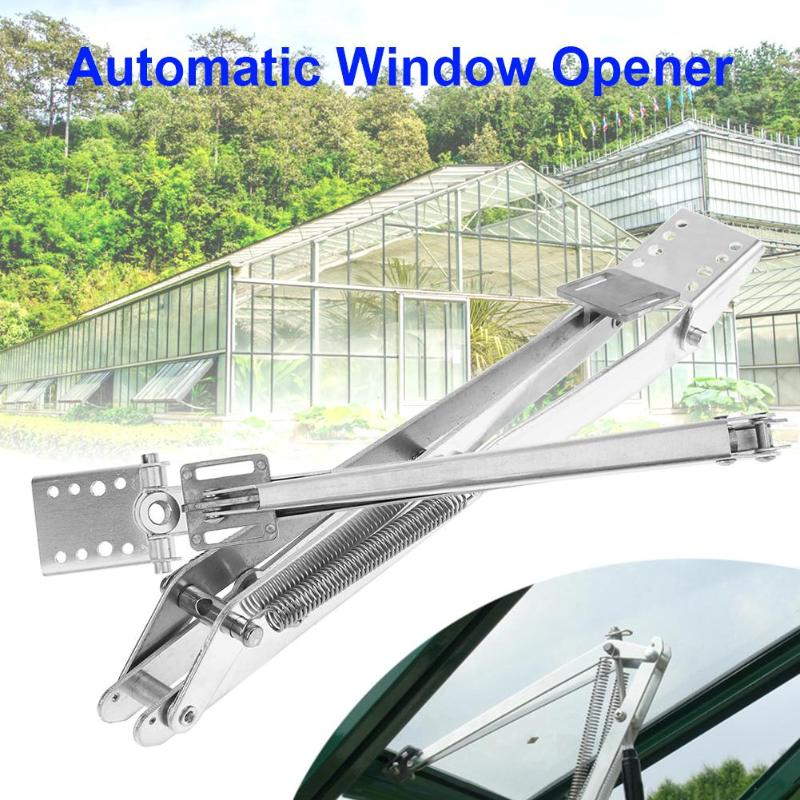 1 Pcs Double Springs Automatic Greenhouse Window Opener Solar Heat Sensitive Vent Window Opener Opening