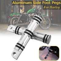 For Harley Sportster Iron Xl 883 Motorcycle Rider Rear Foot Pegs Footrests Footpeg Pedal 1200 883R 883C 883L Street Xg 750 500