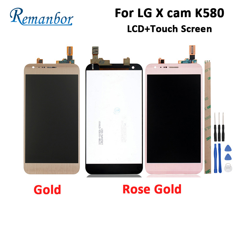 Remanbor For LG X cam K580 LCD Display And Touch Screen+Tools 100% Tested For LG X cam K580 Digital Accessory 5.2Remanbor For LG X cam K580 LCD Display And Touch Screen+Tools 100% Tested For LG X cam K580 Digital Accessory 5.2