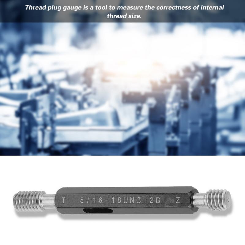 Steel Mercury Gage Thread Plug Gauge High Quality #4 Thread Plug