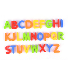 1 set Magnetic Letters Figure Children Kids Alphabet Magnets Learning Educational Toys alphabet set magnetic upper case letters 4 by rubbabu