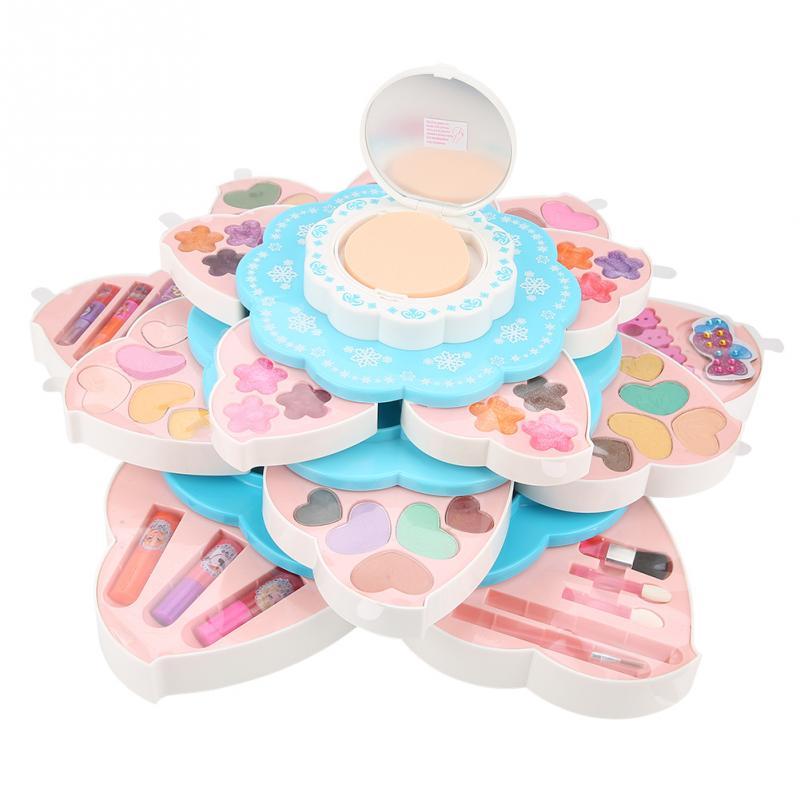 Disney filles maquillage jouets semblant jouer jouets sûr multifonction filles maquillage jouet ensemble cosmétiques meilleurs cadeaux d'anniversaire pour les enfants