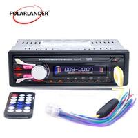 FM Car Radio Bluetooth Detachable Front Panel Auto Audio Stereo Car MP3 Player AUX USB Handsfree Radios Tuner Remote Control
