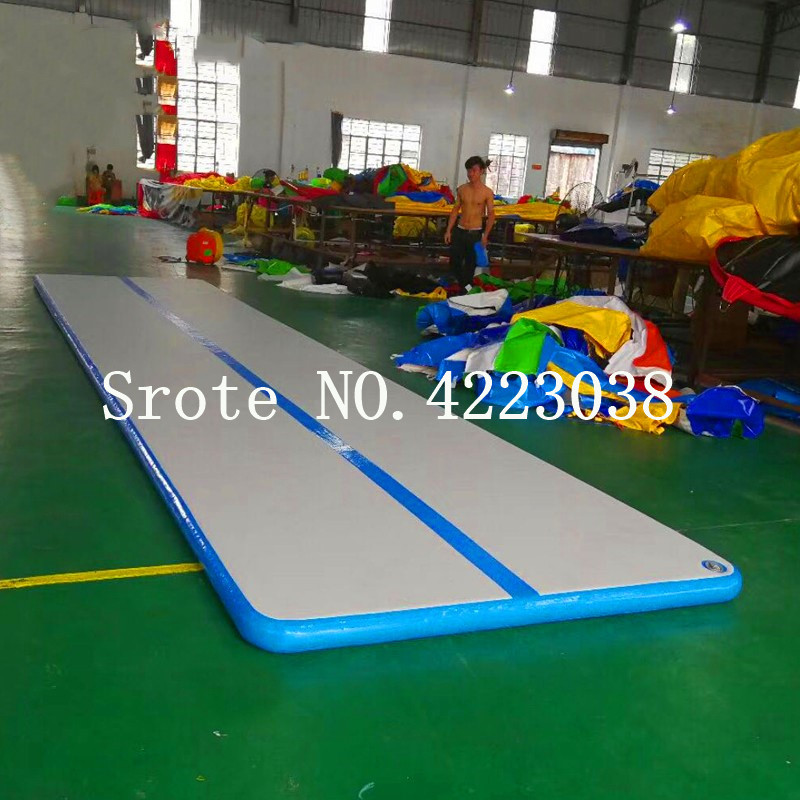 Free Shipping 4*1*0.1m Gymnastic Air Track Tumbling Mat with Free Pump for Home Use, Cheerleading, Water, Park and BeachFree Shipping 4*1*0.1m Gymnastic Air Track Tumbling Mat with Free Pump for Home Use, Cheerleading, Water, Park and Beach