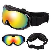 757f0e63d Proteção UV Óculos de Esqui Snowboard Óculos De Esqui Das Mulheres Dos  Homens de Camadas Duplas