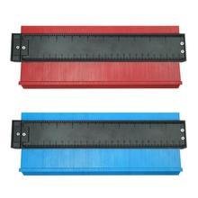 Multifunction Plastic Profile Copy Gauge Contour Gauge Duplicator Standard Wood Marking Tool Tiling Laminate Tiles General Tools